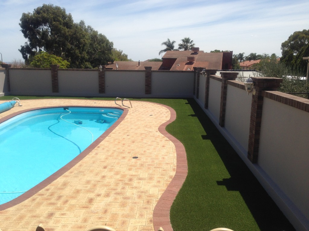Swimming pool surrounds in Lesmurdie
