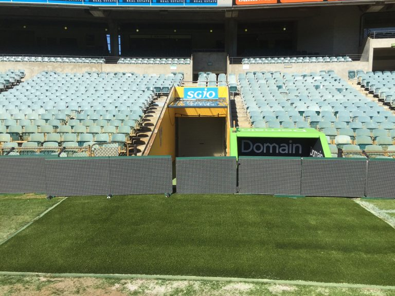 Domain Stadium Synthetic Turf Refurbishment